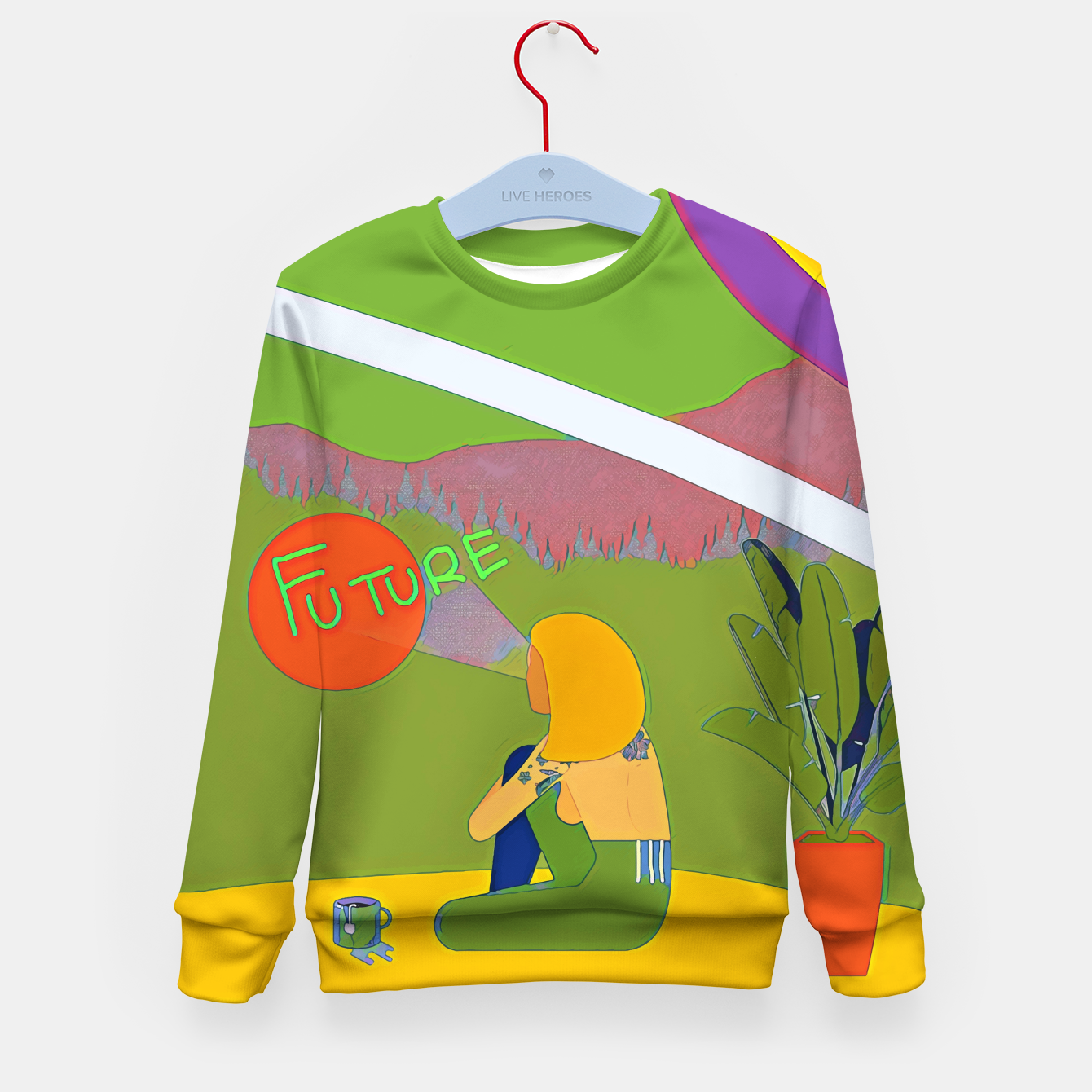 Image of Future Kid's sweater - Live Heroes