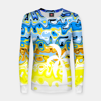 Thumbnail image of White Palm Island Women sweater, Live Heroes