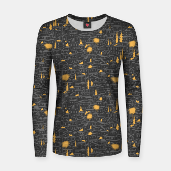 Thumbnail image of Poetry of Spain: evening in Granada Women sweater, Live Heroes