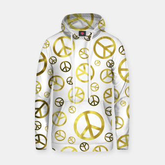 Thumbnail image of Peace Sign Golden Hoodie, Live Heroes