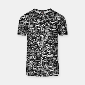 Miniatur Poetry of Spain: evening in Granada [monochrome v.]  T-shirt, Live Heroes
