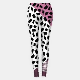 Thumbnail image of Abstract Multicolor Design  Leggings, Live Heroes