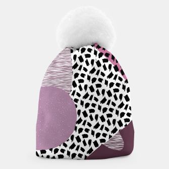 Thumbnail image of Abstract Multicolor Design  Beanie, Live Heroes