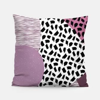 Thumbnail image of Abstract Multicolor Design  Pillow, Live Heroes