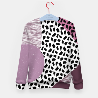 Thumbnail image of Abstract Multicolor Design  Kid's sweater, Live Heroes