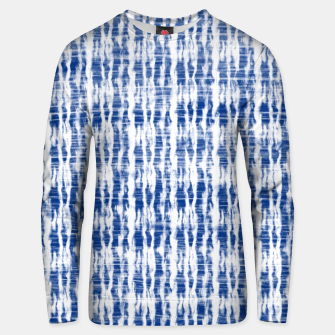 Thumbnail image of Blue and White Abstract Pattern  Unisex sweater, Live Heroes