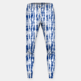 Thumbnail image of Blue and White Abstract Pattern  Sweatpants, Live Heroes