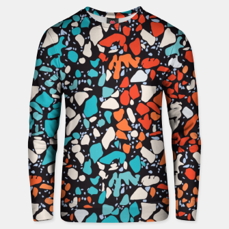 Thumbnail image of Orange Turquoise Abstract  Unisex sweater, Live Heroes