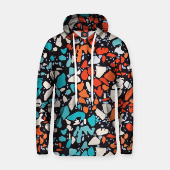 Thumbnail image of Orange Turquoise Abstract  Hoodie, Live Heroes