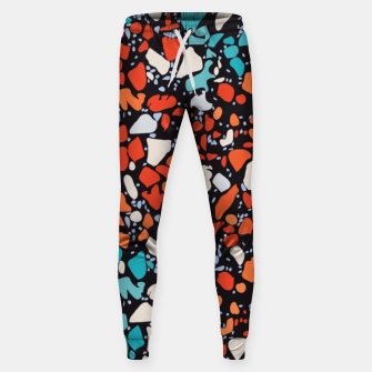 Thumbnail image of Orange Turquoise Abstract  Sweatpants, Live Heroes
