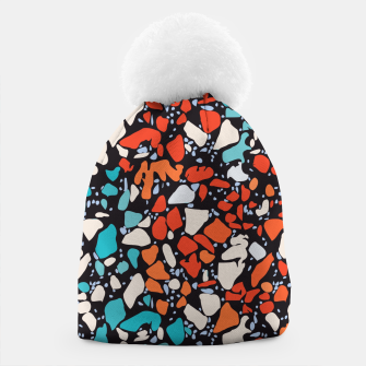 Thumbnail image of Orange Turquoise Abstract  Beanie, Live Heroes
