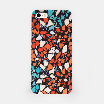 Thumbnail image of Orange Turquoise Abstract  iPhone Case, Live Heroes
