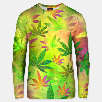 Thumbnail image of Weed 420 Design Unisex sweater, Live Heroes