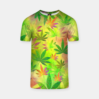 Thumbnail image of Weed 420 Design T-shirt, Live Heroes