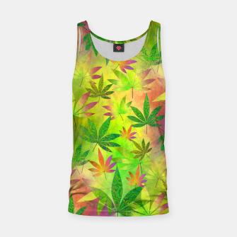 Thumbnail image of Weed 420 Design Tank Top, Live Heroes