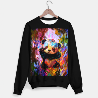 Thumbnail image of cute panda Sweater regular, Live Heroes