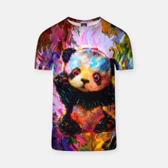 Thumbnail image of cute panda T-shirt, Live Heroes