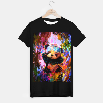 Thumbnail image of cute panda T-shirt regular, Live Heroes