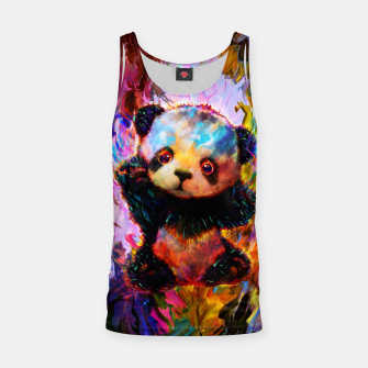 Thumbnail image of cute panda Tank Top, Live Heroes