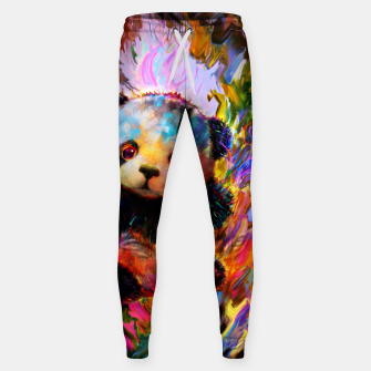 Thumbnail image of cute panda Sweatpants, Live Heroes