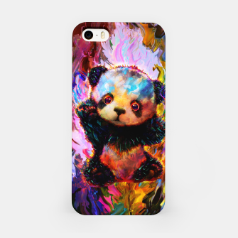 Thumbnail image of cute panda iPhone Case, Live Heroes