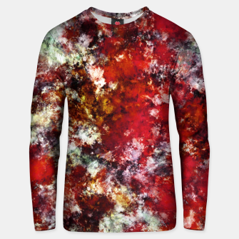 The red crying rocky surface Unisex sweater thumbnail image