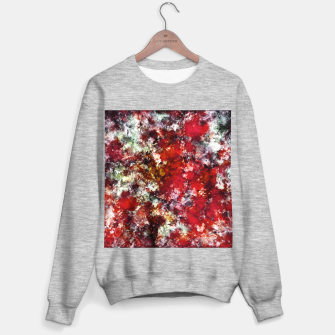 The red crying rocky surface Sweater regular thumbnail image