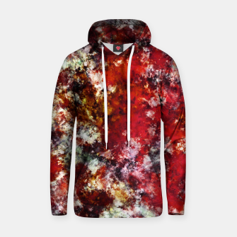 Thumbnail image of The red crying rocky surface Hoodie, Live Heroes