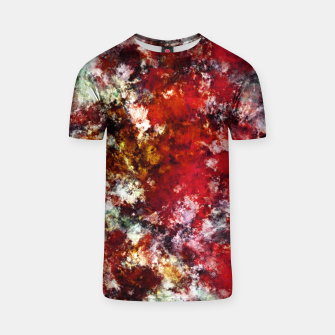 Thumbnail image of The red crying rocky surface T-shirt, Live Heroes