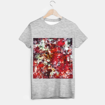 The red crying rocky surface T-shirt regular thumbnail image