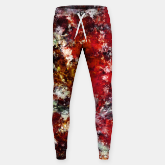 The red crying rocky surface Sweatpants thumbnail image