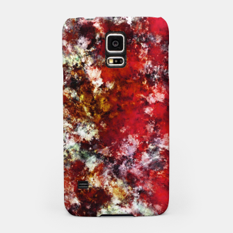 The red crying rocky surface Samsung Case thumbnail image