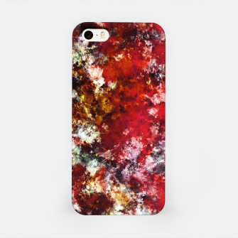 The red crying rocky surface iPhone Case thumbnail image