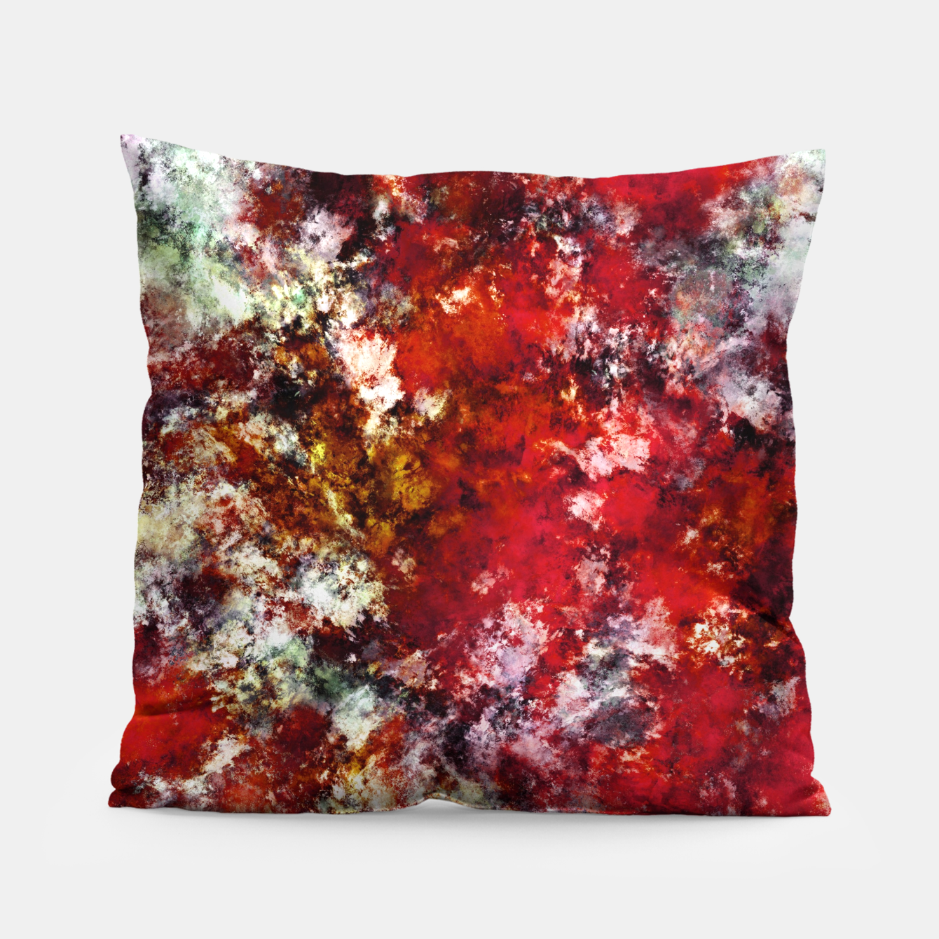 Image of The red crying rocky surface Pillow - Live Heroes