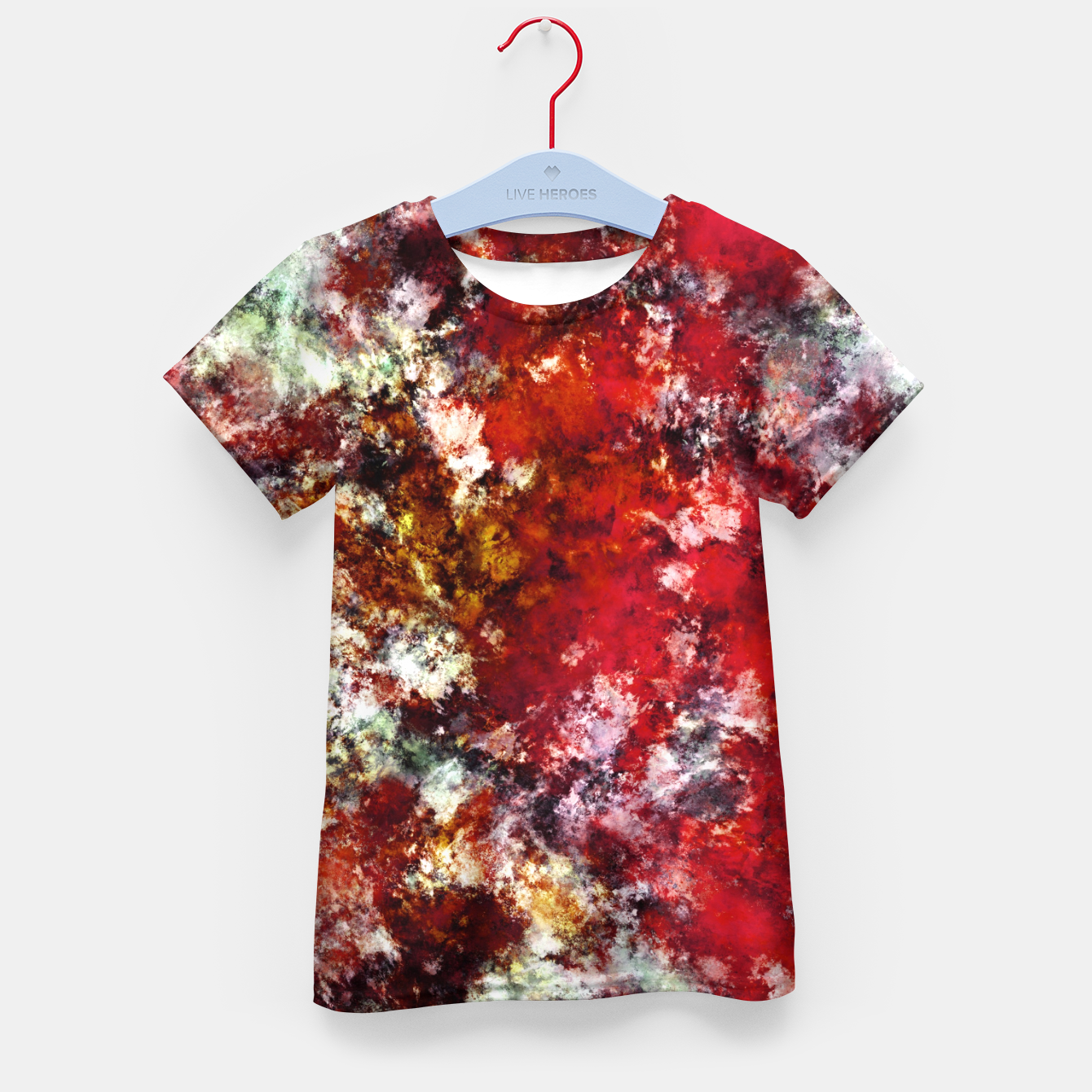 Image of The red crying rocky surface Kid's t-shirt - Live Heroes