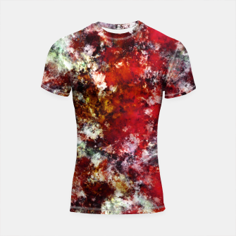 The red crying rocky surface Shortsleeve rashguard thumbnail image
