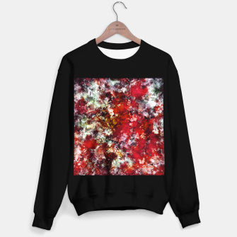 Thumbnail image of The red crying rocky surface Sweater regular, Live Heroes