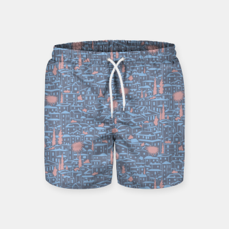 Thumbnail image of Poetry of Spain: early evening in Granada  Swim Shorts, Live Heroes