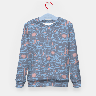 Thumbnail image of Poetry of Spain: early evening in Granada  Kid's sweater, Live Heroes