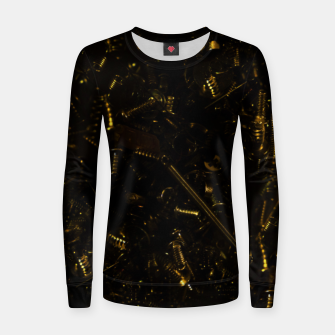 Thumbnail image of Golden tech Women sweater, Live Heroes