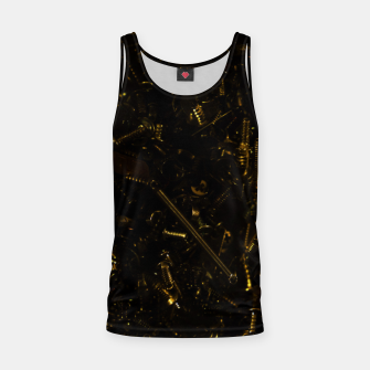 Thumbnail image of Golden tech Tank Top, Live Heroes