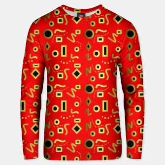 Thumbnail image of Geometric Jungle Unisex sweater, Live Heroes
