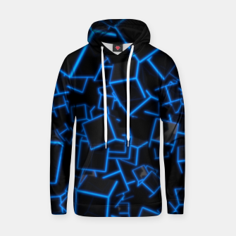 Thumbnail image of Blue Neon Cubes Hoodie, Live Heroes