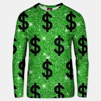 Black Dollar Sign Money Lover Entrepreneur Wall Street Unisex sweater miniature