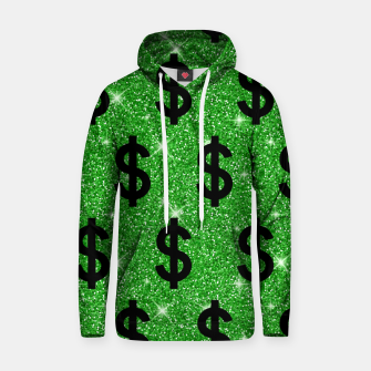 Black Dollar Sign Money Lover Entrepreneur Wall Street Hoodie miniature