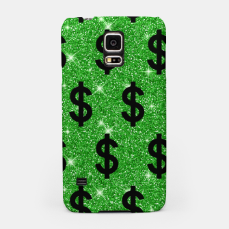 Black Dollar Sign Money Lover Entrepreneur Wall Street Samsung Case miniature