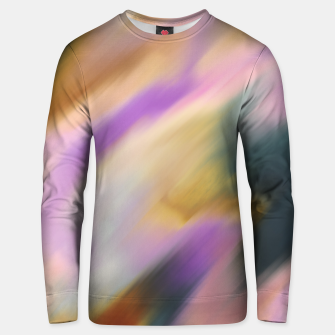 Colorful blurred brushstrokes 1 Sudadera unisex thumbnail image
