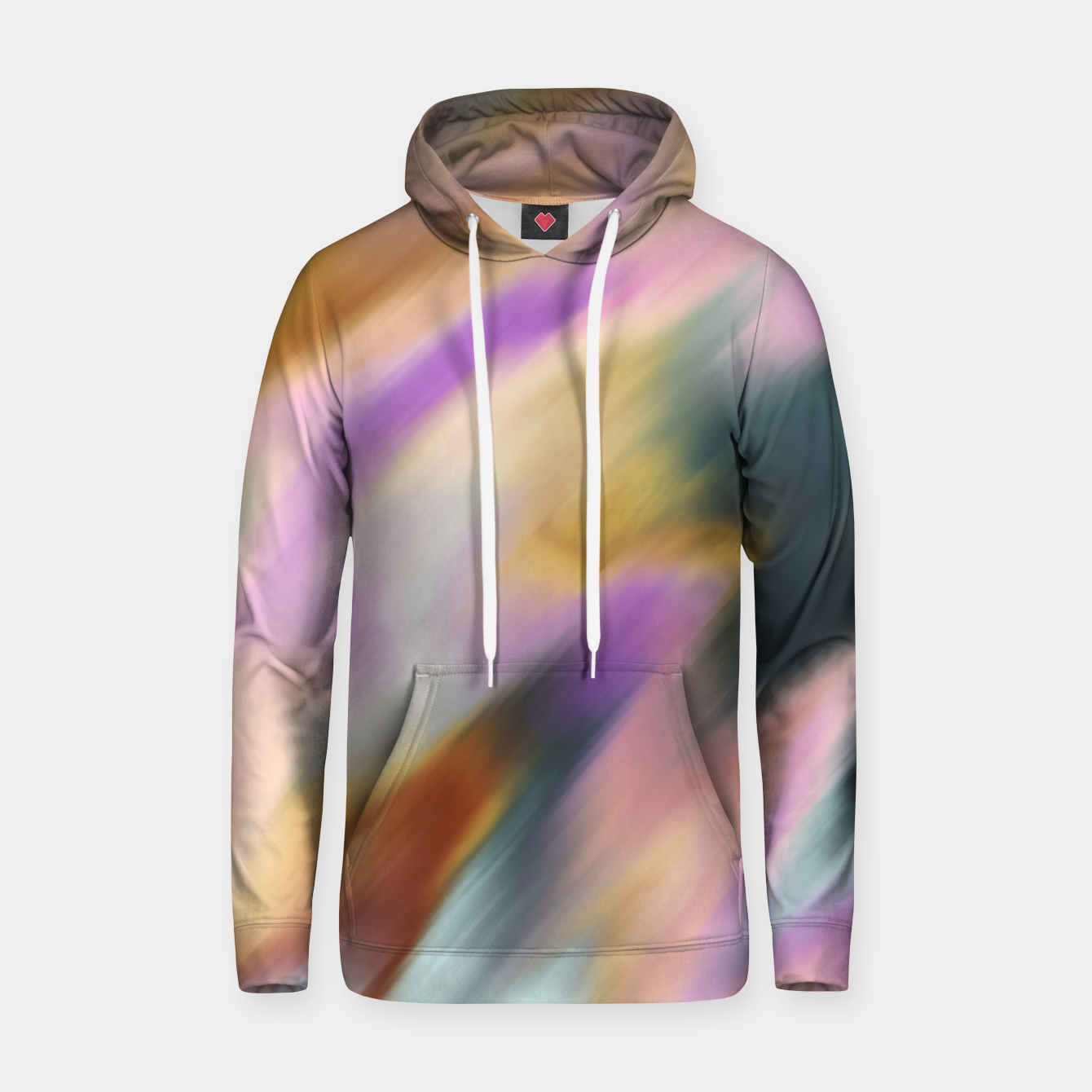 Image of Colorful blurred brushstrokes 1 Sudadera con capucha - Live Heroes