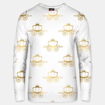 Thumbnail image of Golden Coaches Cinderella Princess Royal Magic Fairytale Unisex sweater, Live Heroes