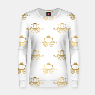 Thumbnail image of Golden Coaches Cinderella Princess Royal Magic Fairytale Women sweater, Live Heroes